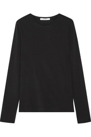 Adam Lippes Pima cotton-jersey top