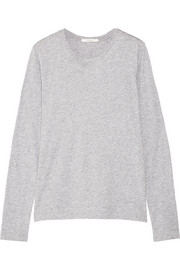 Pima cotton-jersey top