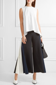 Adam Lippes Asymmetric crepe top
