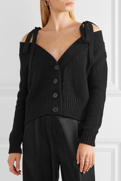 Order Sale Online Clearance Pay With Visa Off Shoulder Sweater ADEAM ZupCRGhif