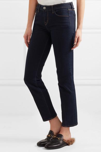 Coco Mi-hauteur Des Jeans Slim-jambe - Bleu Nuit L'agence M5Elz