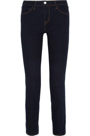 L'Agence Coco mid-rise slim-leg jeans