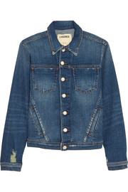 Celine stretch-denim jacket
