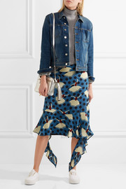 L'Agence Celine stretch-denim jacket
