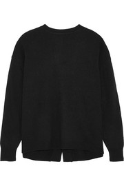 Grace open-back knitted sweater
