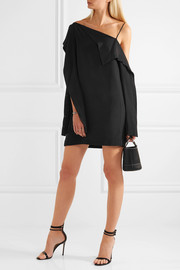 Dion Lee Axis one-shoulder silk mini dress