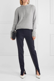 Dion Lee Cutout cashmere hooded sweater