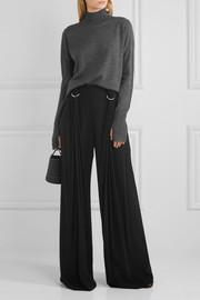 Dion Lee Open-back merino wool turtleneck sweater