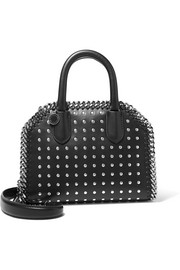 Stella McCartney The Falabella Box studded faux leather shoulder bag