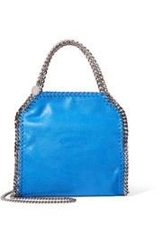 The Falabella mini faux brushed-leather shoulder bag