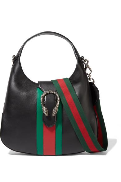 67c6885ab7b2 Gucci | Dionysus Hobo leather shoulder bag | NET-A-PORTER.COM