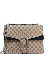 Gucci Dionysus medium coated-canvas and suede shoulder bag