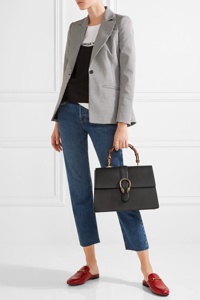0d732785d49e Gucci | Dionysus Bamboo large leather tote | NET-A-PORTER.COM