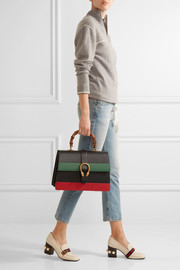 Gucci Dionysus Bamboo large paneled leather tote