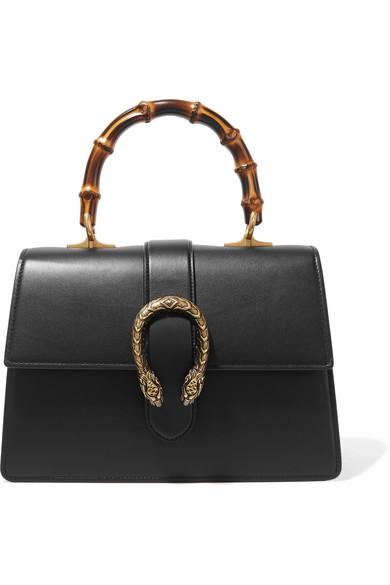 7c5e6086474 Gucci. Dionysus Bamboo medium leather tote