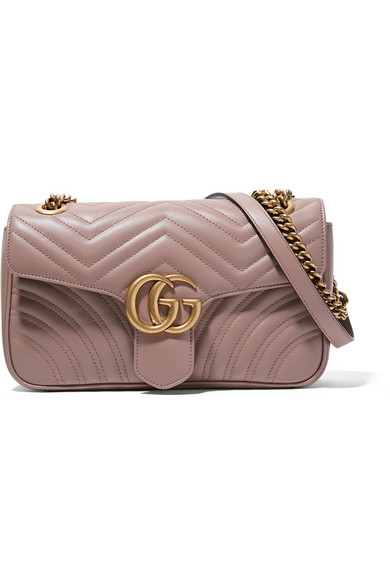 ecbbb21b8b1 Gucci. GG Marmont 2.0 small quilted leather shoulder bag