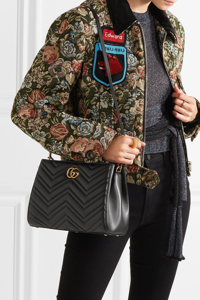 63b7c1c71 Gucci | GG Marmont quilted leather tote | NET-A-PORTER.COM