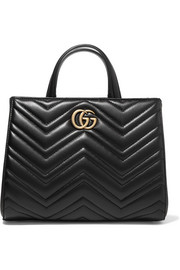 GG Marmont quilted leather tote