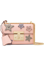 Gucci Padlock small embellished leather shoulder bag