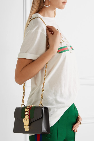 Sylvie Leather Mini Bag Gucci LYvYzf4HAc