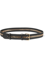 Falabella faux leather belt