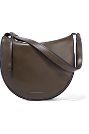 Victoria Beckham Swing leather shoulder bag