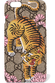 Gucci Printed coated canvas iPhone 6 Plus case