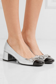 Tod's Two-tone leather pumps