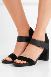 Pedro Garcia Willa textured-leather and suede sandals