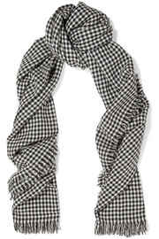 Étoile Isabel Marant Checked wool scarf