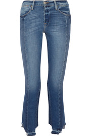 Frame Le High Mix straight-leg jeans