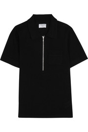 Wool and cashmere-blend polo shirt