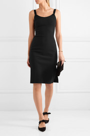 Maiyet Open-back crepe dress
