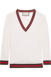 Gucci Striped wool sweater