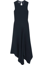 Stella McCartney Cutout asymmetric stretch-cady dress