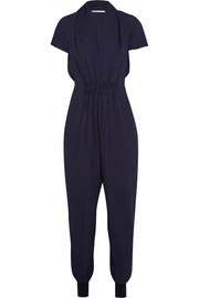 Stella McCartney Aio silk crepe de chine jumpsuit