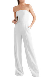Stella McCartney Malorie strapless wool jumpsuit
