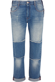 Stella McCartney Patchwork boyfriend jeans