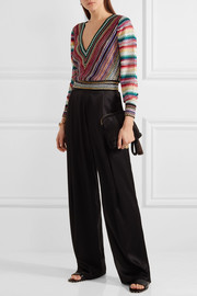 Missoni Cropped crochet-knit sweater