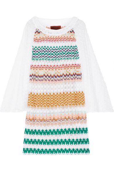 Missoni - Crochet-knit Mini Dress - White