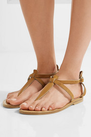 K Jacques St Tropez Buffon leather sandals