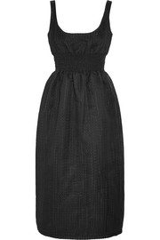 Emilia Wickstead Giovana embroidered cotton-blend organza dress