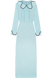 Emilia Wickstead Gia crepe de chine midi dress