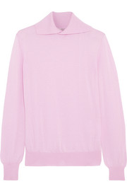 Gabrielle wool, silk and cashmere-blend sweater