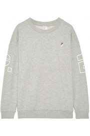 P.E Nation Danny French cotton-terry sweatshirt