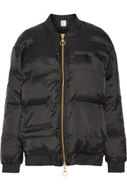 Reign Man quilted shell jacket