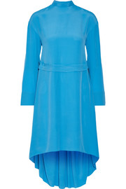 Cédric Charlier Crepe de chine dress