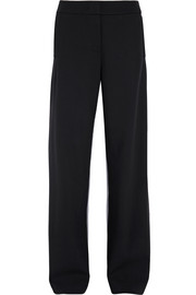 Cédric Charlier Ruffled houndstooth wool pants