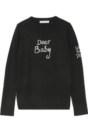 Bella Freud Dear Baby intarsia merino wool sweater