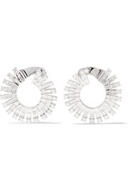Anita Ko Ava 18-karat white gold diamond earrings
